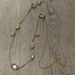 Kate Spade Long Gem Necklace